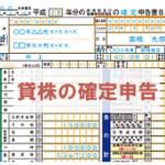 【貸株金利/配当金相当額】を確定申告するときの書き方